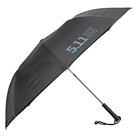 3-Fold Outdoor UV Protection Auto Open/Close Umbrella with Strap (Black)