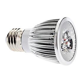 Dimmable E27 6W 540-600LM 6000-6500K Natural White Light LED Spot Bulb (220V)
