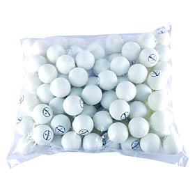 100 Pcs Table Tennis Balls (Yellow,White)