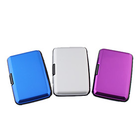 7-Layer ID Card Credit Card Wallet Holder Case (Random Color)