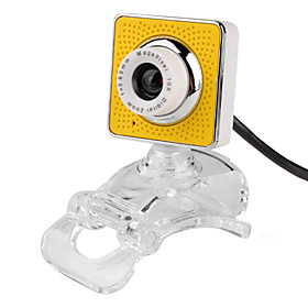 Plug-and-play 12.0 Megapixels CMOS PC Camera Webcam with Microphone