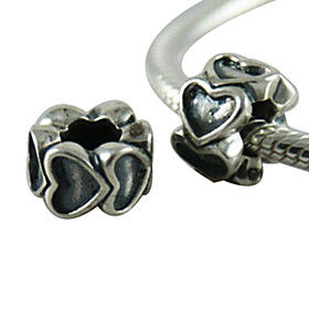 Antique Sterling Silver Beads(Silver)