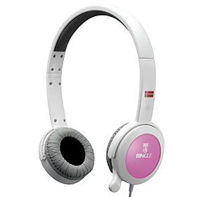 Bingle B651 Comfort Stereo Headphone with Microphone (Assorted Colors)