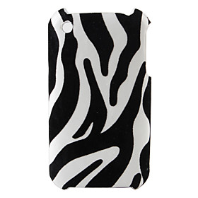 Zebra Stripe Pattern Hard Case for iPhone 3G and 3GS (Multi-Color)