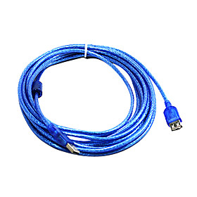 100% Copper 248 USB2.0 AM to AF Extention Cable with Magnetic loop (5 m)