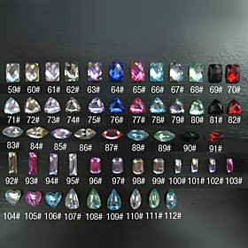 12 Pcs Resin Nail Art Decoration