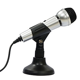 Salar M9 Noise-Cancling Unidirectional Microphone with Stand