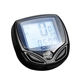 Digital LCD Wireless Waterproof Bike Computer Bicycle Speedometer