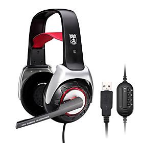 Bingle Comfort Gaming USB Headphone with Hi-Sensitivity Microphone