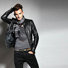 Leather Fashion Outerwear