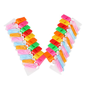 20 Multicolor Whistles with Plastic Package (Muticolor)