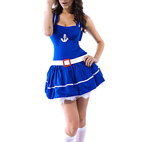 Womens Sexy Sweetheart Sailor Halloween Costume
