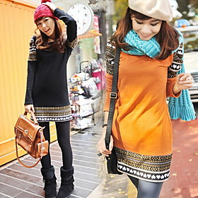 Autumn Fashion Thick Dress