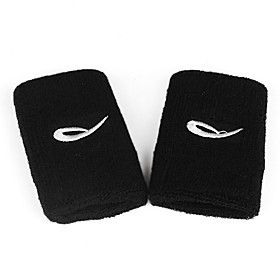 Black Towel Wristguard for Wrist Support (1 Pair)