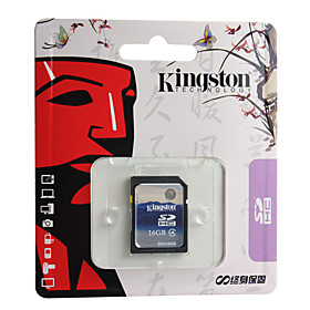 16GB Kingston Class 4 SDHC Flash Memory Card