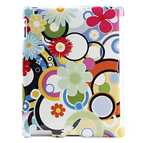 Hot Style Colorful Flowers Pattern Hard Case for The New iPad