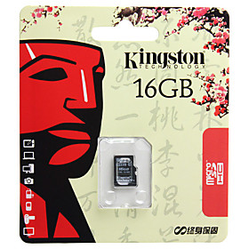 16GB Kingston Class 4 MicroSDHC Flash Memory Card