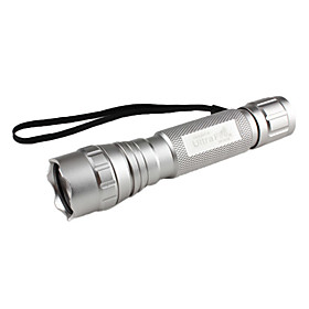 UltraFire 501B Flashlight Casing Shell Housing with Strap (1x18650, Assorted Colors)