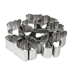 Stainless Steel Butterfly Shaped Cookie Cutters Set (10-Pack)