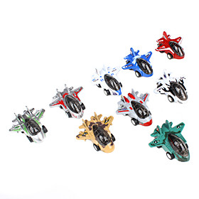 Space Shuttle Pull Back and Go Toys for Kids (9-Pack)
