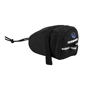 ROSWHEEL Bicycle Shockproof 600D Saddle Tail Bag (Black)