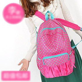Leisure Polka Dot Backpack(28cm 13cm 42cm)