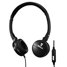 Bingle Stereo Headphone with Microphone for PC Cellphones