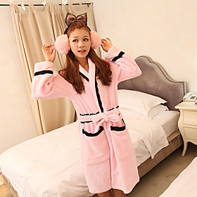 Pink Lady Lace Robe(Length:110CM,Sleeve Length:50,Shoulder Length:55CM,Swing Length:120)