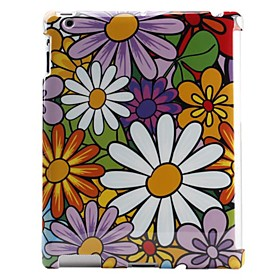 Colorful Flowers Pattern Hard Case for The New iPad