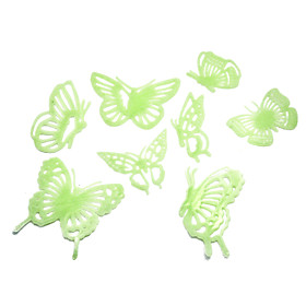 Butterfly Pattern Luminous Paste /Ceiling Stickers