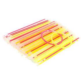 Light Stick Glowsticks with Casing  Connectors (About 100 Piece, 19.8cm)