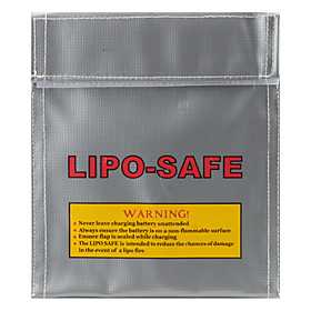 Mystery Fireproof LiPo Safety 18x22cm Silver Fiber Lipo Safe Bag