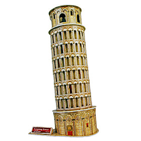 DIY Architecture 3D Puzzle Leaning Tower of Pisa (17pcs, difficulty 4 of 5)