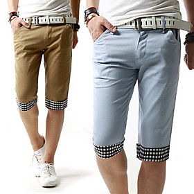 Men's Cotton Straight Shorts
