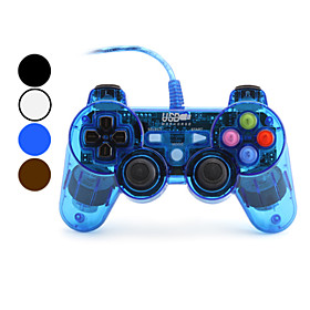 Classic USB Wired Controller for PC (Assorted Colors)