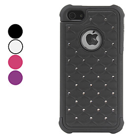 Detachable Case with Imitation Diamond for iPhone 5 (Assorted Colors)