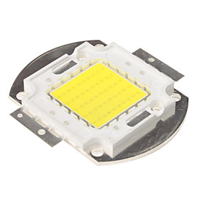 DIY 50W 4000-5000LM 6000-6500K Natural White Light Integrated LED Module (32-34V)