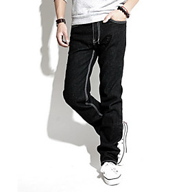 Men's Slim Trendy Jeans Pants