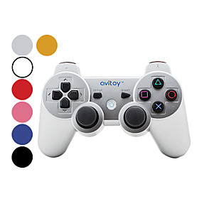 Avitoy Rechargeable Bluetooth Wireless Controller for Iphone/Ipad/Ipod touch (Retail Box, Assorted C