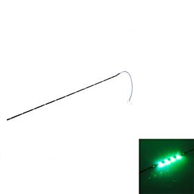 30cm 11-LED Green Light Flashing Strip Lamp for Car (DC 12V)