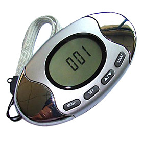 HOYOU Multifunction Pedometer with Steps, Distance Calories  Fat Measuring Running Walking