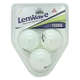 LENWAVE White Table Tennis Ping-Pong (3 pcs)