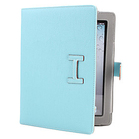 Litchi Grain PU Leather Case with Stand for iPad (Assorted Colors)
