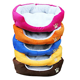 Dog Footprint Style Pet Bed (Assorted Colors,50x40x16CM)