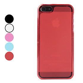 Frosted Matte TPU Soft Case for iPhone 5 (Assorted Colors)