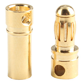 5 Pairs Mystery GW001C 3.5mm Gold Plated Connector Male and Female
