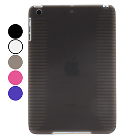 Anti-skidding TPU Soft Case for iPad Mini (Assorted Colors)