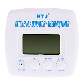 Kitchen Cooking Digital Timer Thermometer (1xAAA)