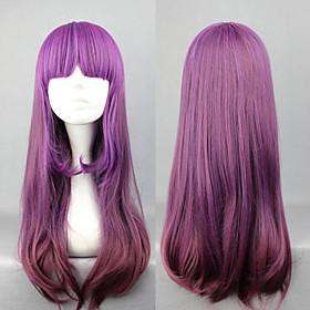 Elegant Gradient Purple 60cm Princess Lolita Wig