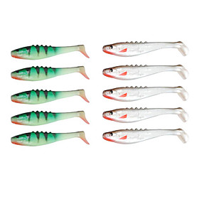 85MM 5.2G Soft Lure Pack (5 Pieces)